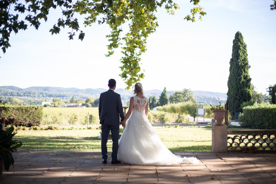 Photo de mariés avant retouche