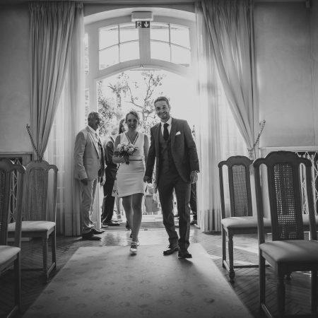 Entrée en marie des mariés